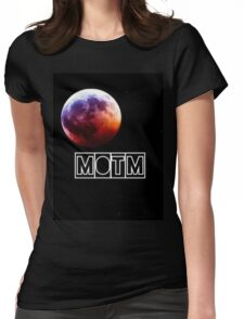Man On The Moon Womens Fitted T-Shirt
