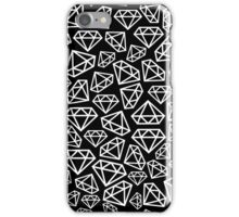white diamond  iPhone Case/Skin
