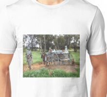 Lockhart's Pastoral Shadows - Horse and Cart Unisex T-Shirt