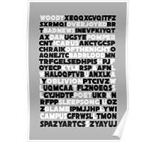 Bastille crossword. Poster