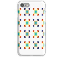 Multi Radial Square Abstract iPhone Case/Skin