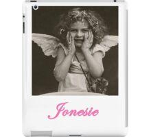 Jonesie Album Cover by davidsenpai iPad Case/Skin