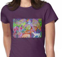 Aurora Borealis Womens Fitted T-Shirt