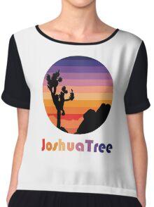 Joshua Tree T-Shirt Chiffon Top