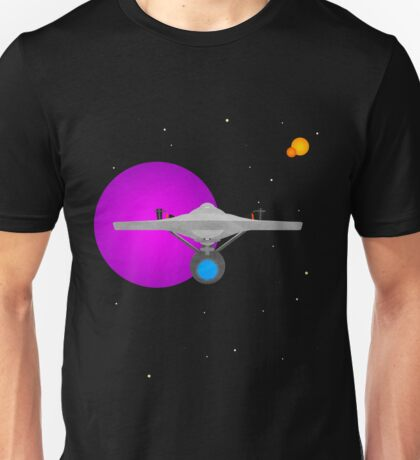 Star Trek - Minimalist Enterprise Unisex T-Shirt