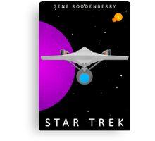 Star Trek - Minimalist Enterprise Canvas Print