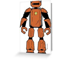 Vectorbot 004 Greeting Card