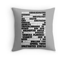 Bastille crossword. Throw Pillow