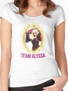 Rupaul's Drag Race All Stars 2 Team Alyssa Edwards Women's Fitted Scoop T-Shirt