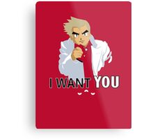 I Want You -- To Catch Them All! Metal Print