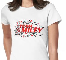 Team Miley Doodle Womens Fitted T-Shirt