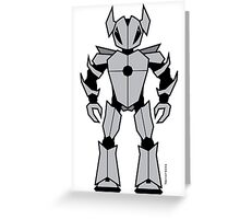 Vectorbot 002 Greeting Card
