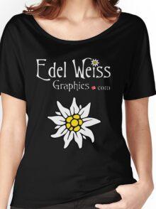 Edel Weiss Graphics Logo Women's Relaxed Fit T-Shirt