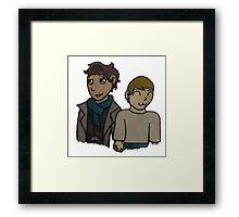 #RelationshipGoals Framed Print