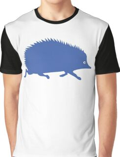 Blue Hedgehog Graphic T-Shirt