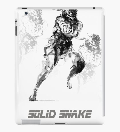 Snake metal gear solid iPad Case/Skin