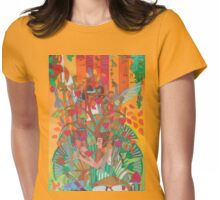 The Ten Strings of My Heart Womens Fitted T-Shirt