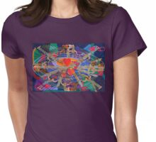 Nine Lives of the Heart Womens Fitted T-Shirt