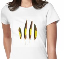 Feathers Four Womens Fitted T-Shirt