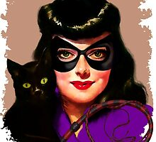 Vintage Catwoman by sashakeen
