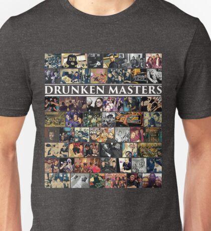 Photo Collage (Drunken Masters) Unisex T-Shirt
