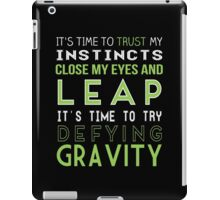 Defy Gravity iPad Case/Skin