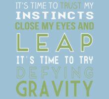 Defy Gravity Baby Tee