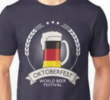Germany Oktoberfest Glass Unisex T-Shirt