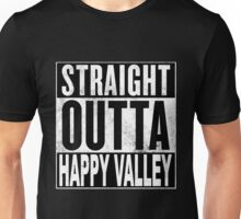 Straight Outta Happy Valley, Hong Kong Unisex T-Shirt