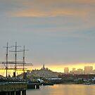 San Francisco Morning Cityscape by David Denny