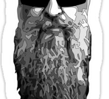 Billy Gibbons HEAD Sticker