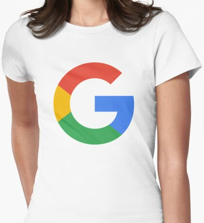 google Womens Fitted T-Shirt
