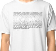 All Star Lyric  Classic T-Shirt