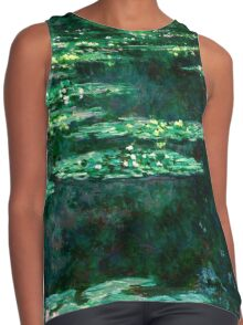 1904-Claude Monet-Waterlilies-89x92 Contrast Tank