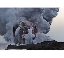 Kilauea Volcano at Kalapana 10 Photographic Print