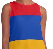 Armenian flag Contrast Tank