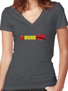 MoorISH Women's Fitted V-Neck T-Shirt