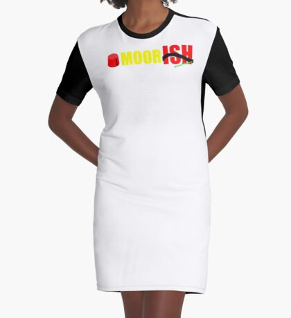 MoorISH Graphic T-Shirt Dress