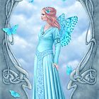 Aquamarine Birthstone Fairy by Rachel Anderson