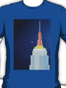 Empire State Building New York Illustration T-Shirt