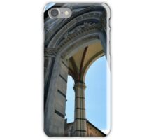 Gothic column and arch in Siena iPhone Case/Skin