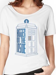 It's Bigger On The Inside. Women's Relaxed Fit T-Shirt