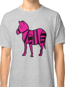 Extremely Lazily Made Zebra Classic T-Shirt