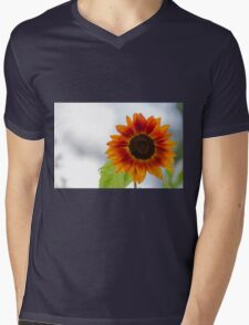 sunflower in the garden Mens V-Neck T-Shirt