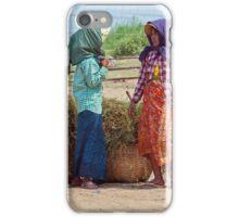 Burmese Women, Bagan iPhone Case/Skin
