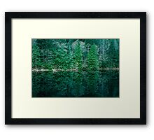 First Green is Gold Framed Print