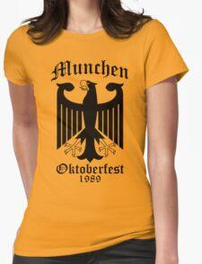 Munchen Oktoberfest Eagle Womens Fitted T-Shirt