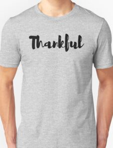 Thankful Tshirt | Stikcer Unisex T-Shirt