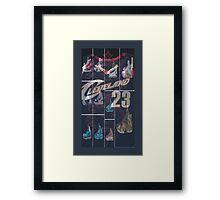Lebron #23  Framed Print