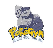 pokegym vintage Photographic Print